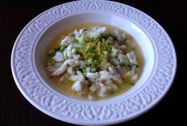 Ceviche de merluza