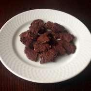 Chips de chocolate negro, avena y frutos secos